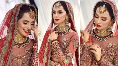 Nimra Khan New Bridal Photo Shoot is so Awesome
