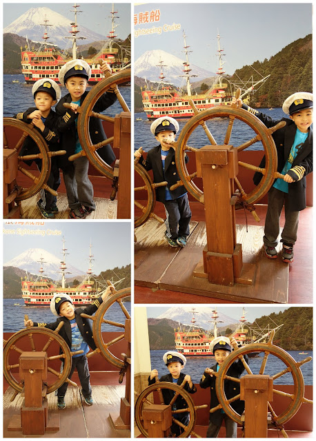 Hakone Travel boat cruise