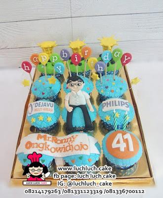 Cupcake Ulang Tahun Tema PHILIPS