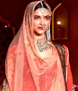 Deepika Padukone as queen Padmavati