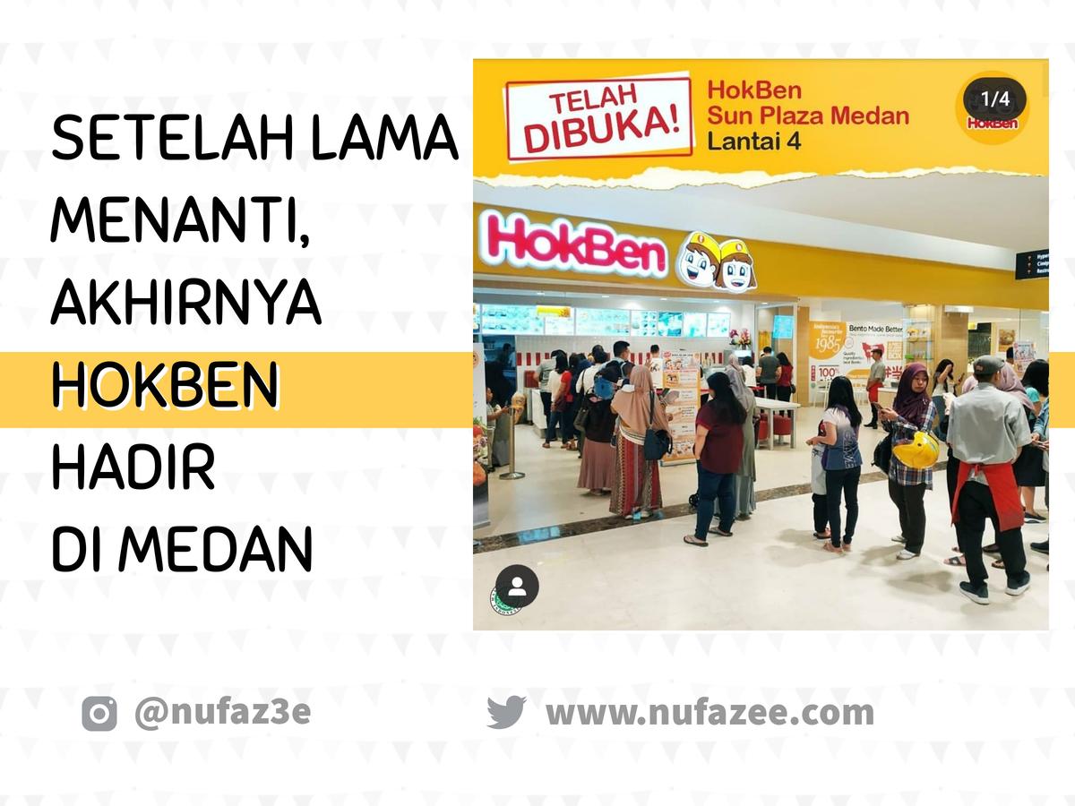HokBen di Medan