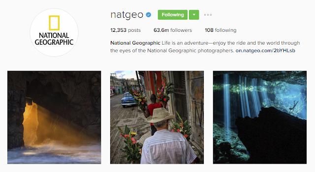 Follow @natgeo on Instagram