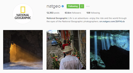 Instagram Inspiration : 12 Outdoor & Travel Accounts To Follow!