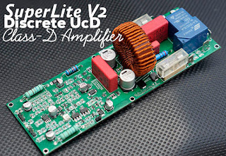 Power Amplifier Class-D UcD SuperLite v2 Final