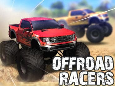 لعبة سباق الشاحنات العملاقة Offroad Racers