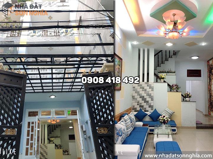 Bán nhà Gò Vấp đường Bùi Quang Là phường 12 - 3.7x16.5m giá 4.65 tỷ