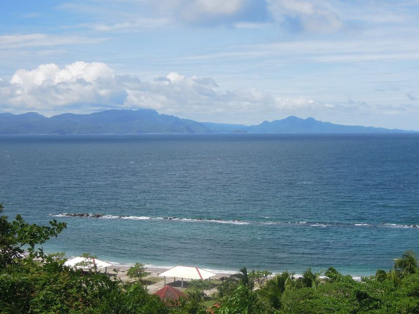 View of Caballo Island from Corregidor Island