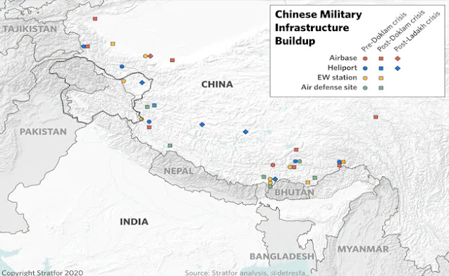 china's  military strength alog LAC