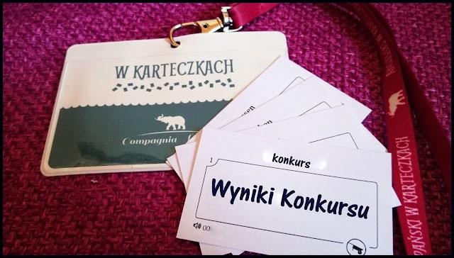 """Wyniki Konkursu """"Fiszki do nauki języków obcych - W karteczkach"""""""