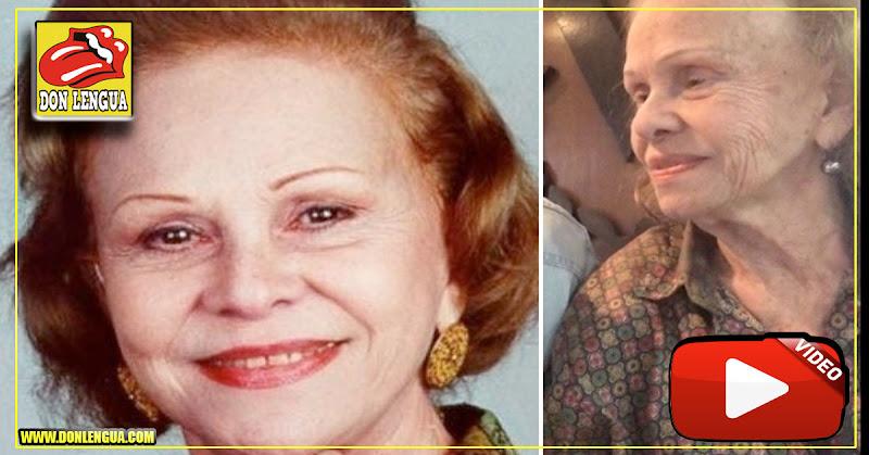 Luis Olavarrieta nos muestra cómo está la actriz Eva Blanco después de tantos años