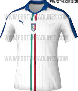 detail gambar render jersey euro italia Jersey timnas Italia away terbaru Euro 2016 Perancis di enkosa sport toko online jersey terpercaya