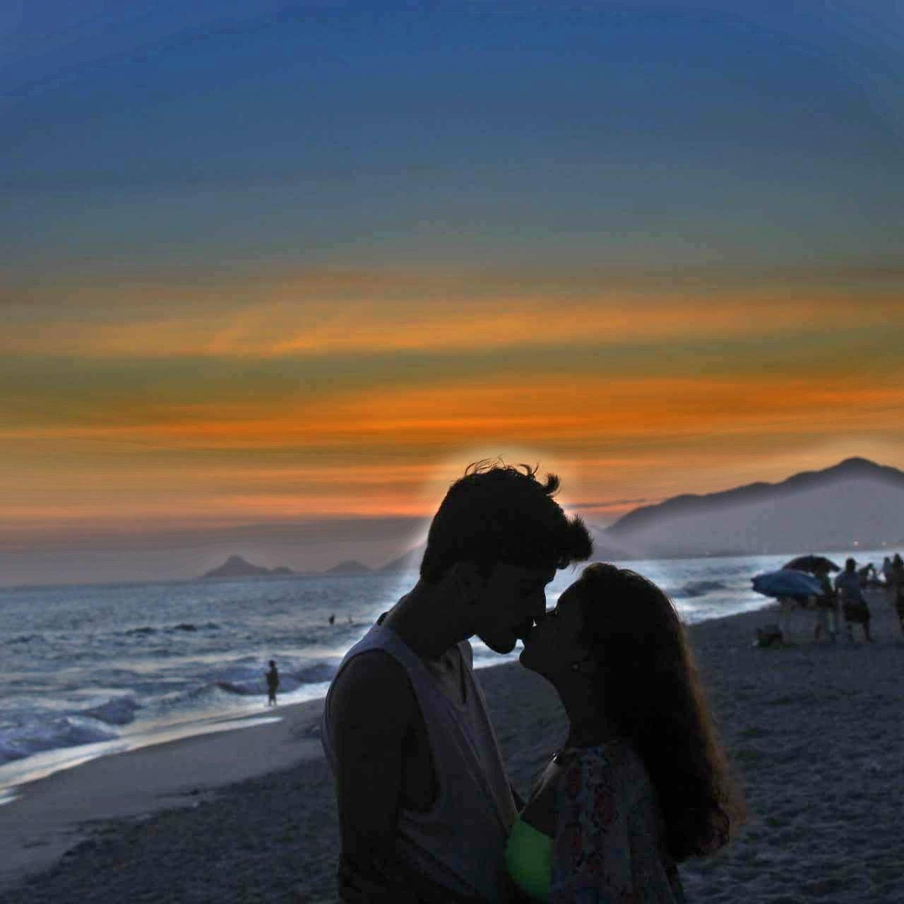 Fotos inspiradoras na praia, rio de janeiro, fotos na praia, kimono, fotos com namorado na praia, pôr do sol