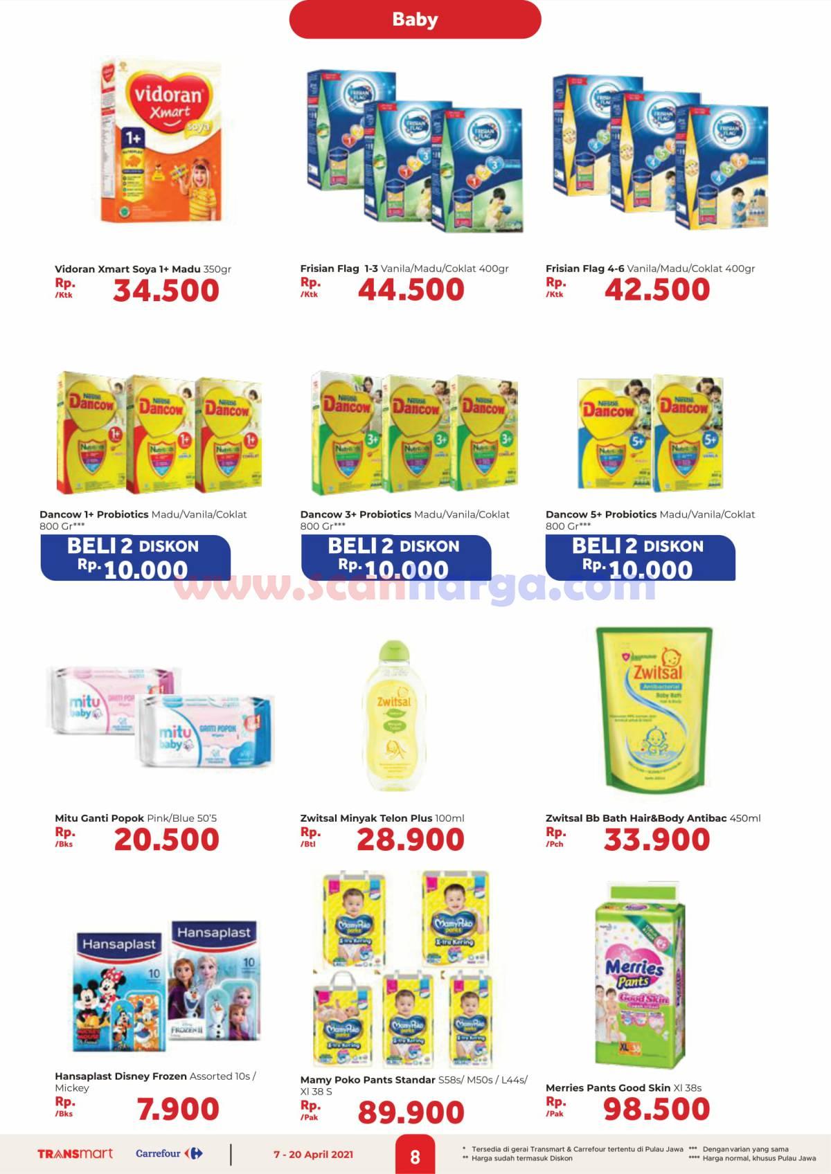 Katalog Promo Carrefour Transmart 7 - 20 April 2021 8