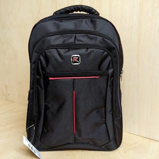 Jual Tas Ransel Laptop R Black