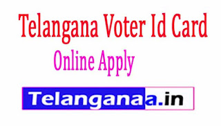 New Voter Id Card online Apply Telangana
