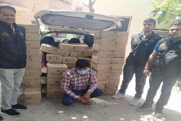 faridabad-crime-branch-uncha-gaon-arrested-one-sharab-taskar-news