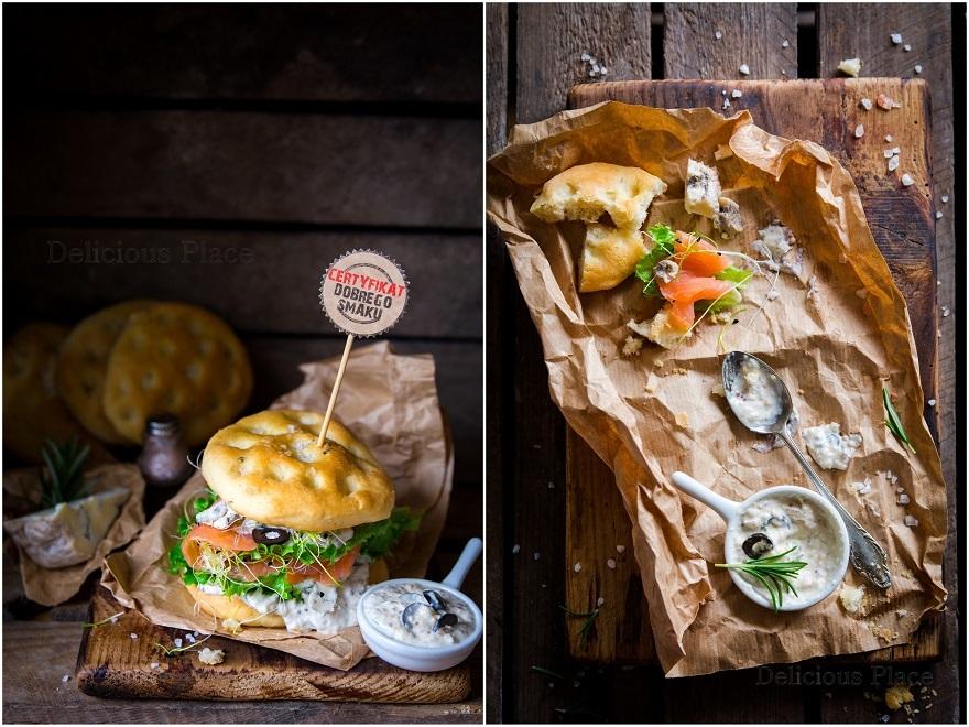 Sandwiche z mini foccacii
