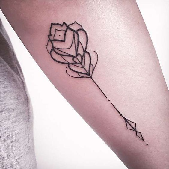 Cute Arrow Tattoo Designs