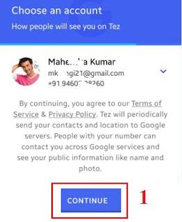 Google Tez Download करे और जीते 1 लाख रूपए (100% Working Tips)