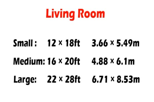 Becoming a Living Room Minimalist: The Correct Living Room Dimensions for a Minimalist Living