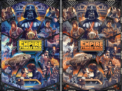 New York Comic Con 2021 Exclusive Star Wars The Empire Strikes Back Screen Print by Ise Ananphada x Bottleneck Gallery