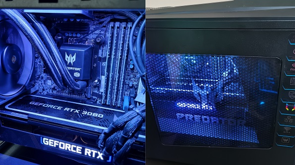 Acer Predator Orion 5000 Gaming PC Interior