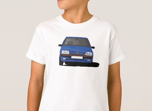Peugeot 205 GTi t-shirt  for boys
