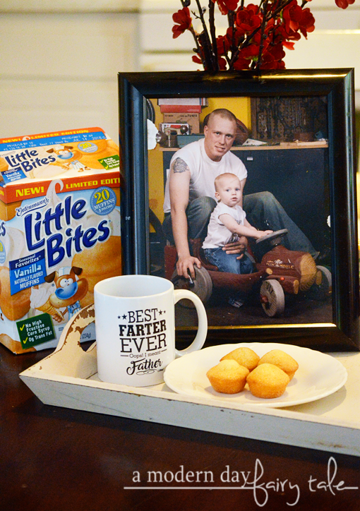 Celebrate Father's Day with Entenmann's® Little Bites® Vanilla Muffins {+ a $25 Visa Gift Card Giveaway} #LoveLittleBites #sponsored