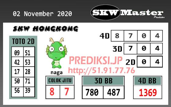 Skw Master HK Senin 02 November 2020