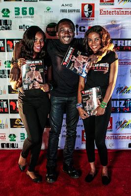 Bovi at African Muzik Magazine launch