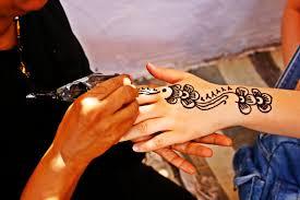 Tatuajes de henna, tatuajes temporales