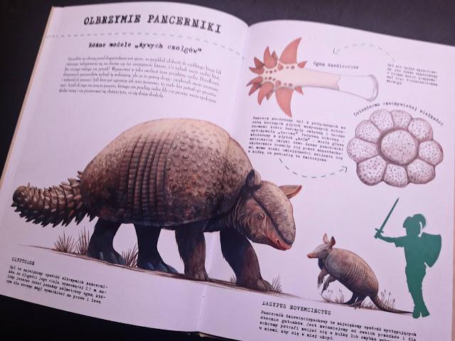 """Co ma kura z jaszczura? Wielka księga ewolucji"" Cristina M. Banfi, Cristina Peraboni, Rita Mabel Schiavo,  Román Garcia Mora, Adamada"