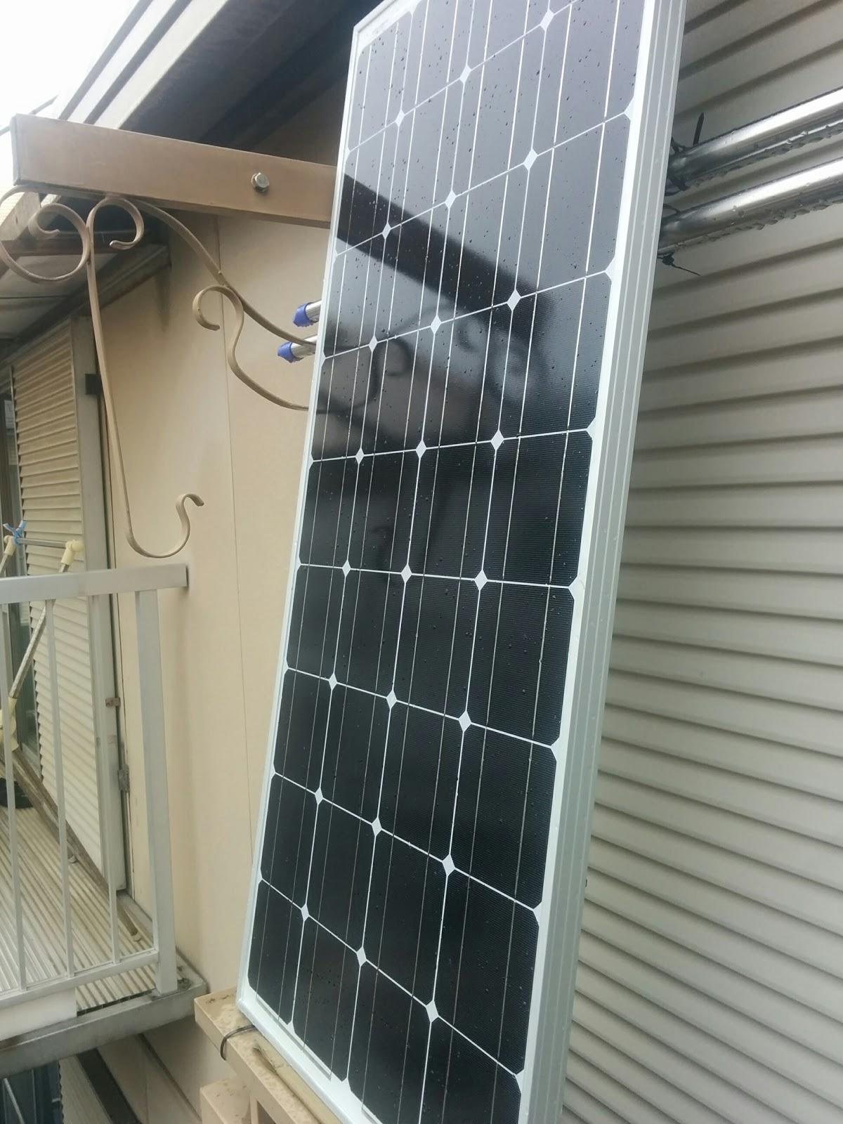 自作 ソーラー パネル 【DIY】蓄電型太陽光発電のソーラーパネルの並べ方
