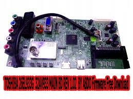 TOSHIBA 26EL933G  32AV933 MAIN BD REV 1.02  BY ABDO Firmware Free Download
