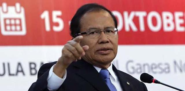 Rizal Ramli: Mayoritas Masyarakat Tak Mau Beri Kesempatan Kedua Untuk Jokowi