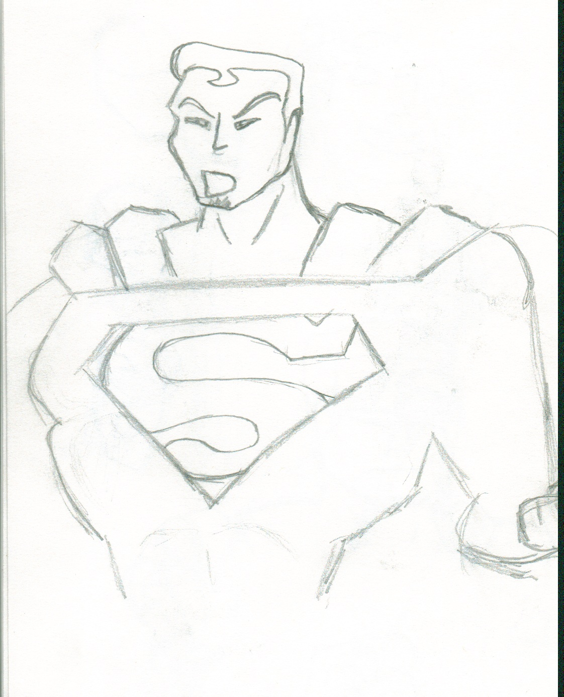 Sean S- D: Character Exercise: Superman