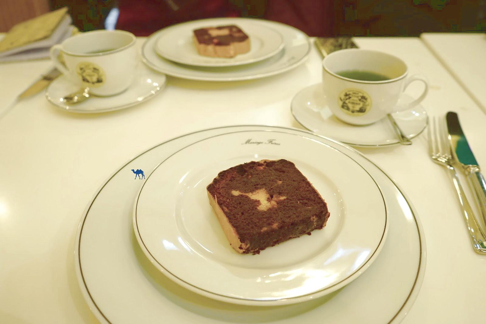 Le Chameau Bleu - Tea Time au salon de thé de  Mariage Frères Paris