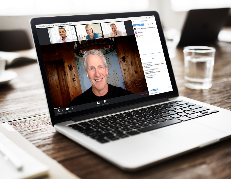 Cara Menggunakan Fitur Aplikasi Zoom Untuk Peserta Meeting Room Di Laptop Atau PC