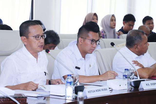 Pemkab Muba Target Juara Umum Porprov 2019 di Prabumulih