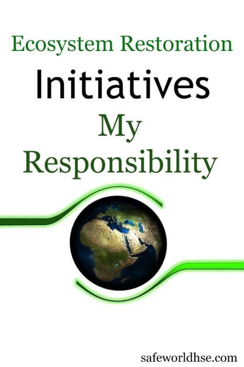 Environment slogans, quotes messages - Best Short slogans on Ecosystem Restoration
