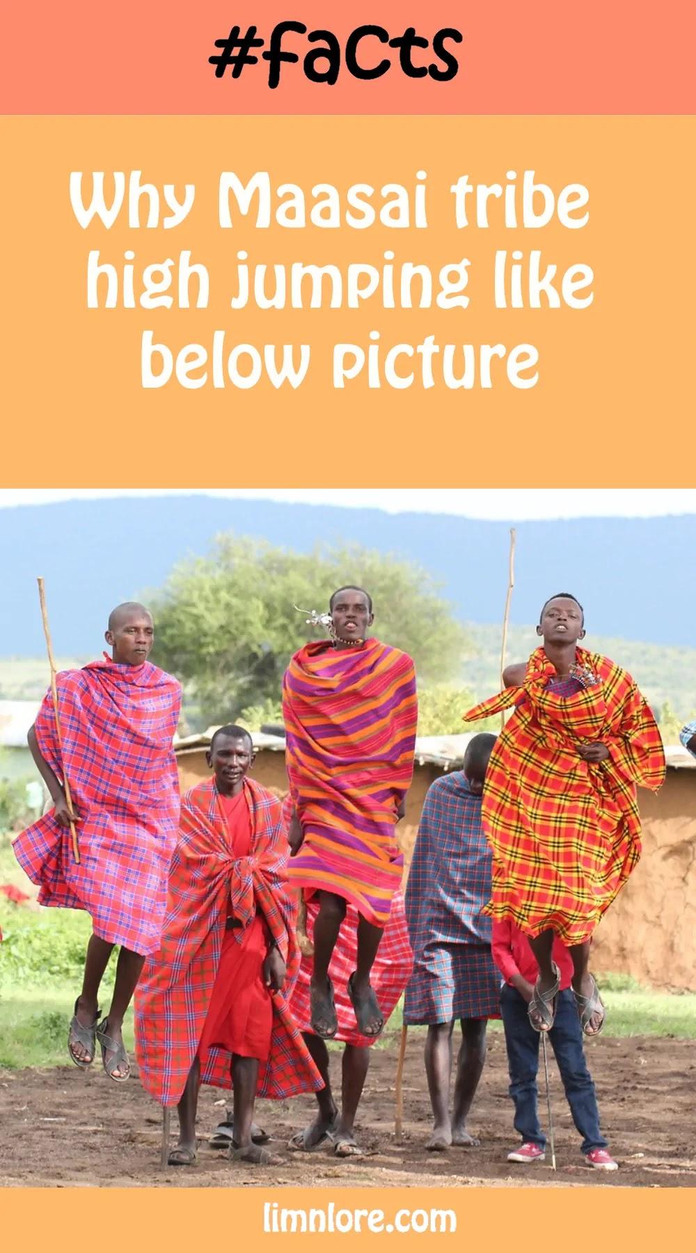 kenya's Maasai tribe high jumping facts