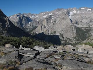 Blick in den Le Conte Canyon