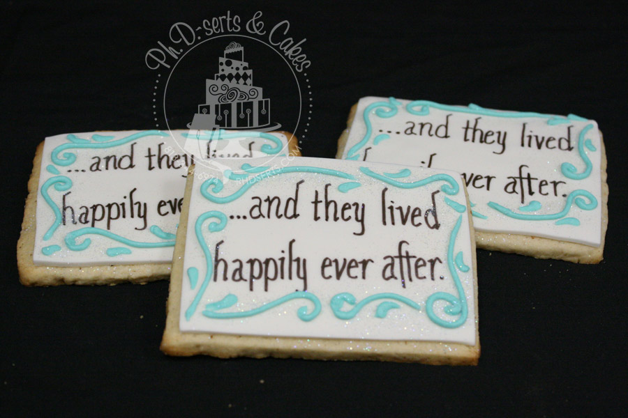 Personalized Disney Wedding Gifts: Cake Walk: Disney Wedding Favors