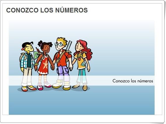 """""""Conozco los números"""" (Juegos de Matemáticas de 3º y 4º de Primaria)"""