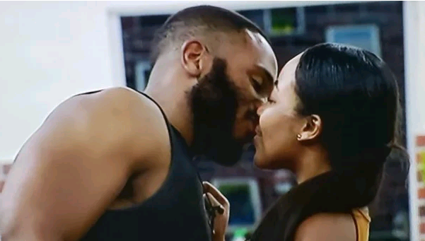 #BBNaija: Kiddwaya picks Erica as the girl he likes the most in the house and kisses her passionately (video)
