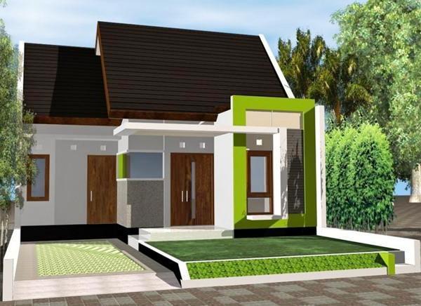 75 Desain Rumah Type 36 Minimalis 2 Lantai 1 Lantai Sederhana