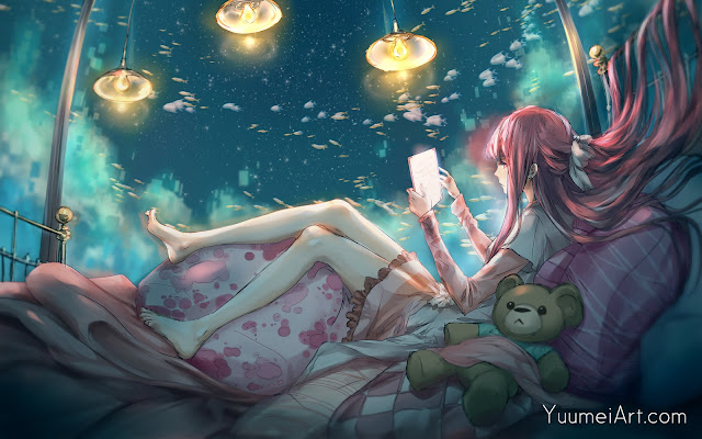 In My Lonely Room by YuumeiaArt