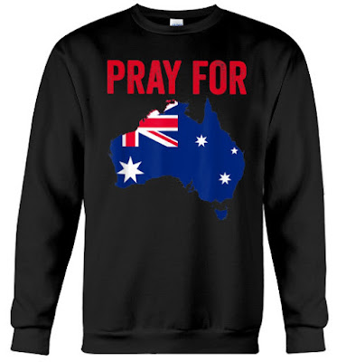Pray for Australia T-Shirt Hoodie Sweatshirt