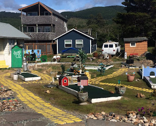 Mini Golf at Rockaway Beach, Oregon, USA. Photo by Laura Emmerson the Gluten Free Traveller 190819