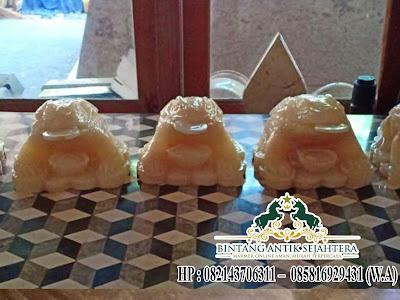 patung katak hoki kecil